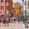 Tourists Overrunning Venice