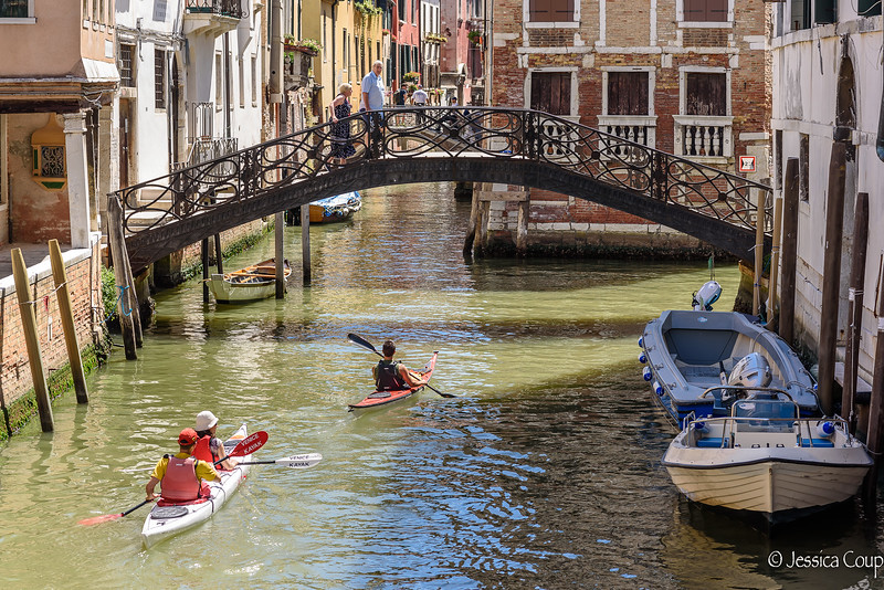 Kayaking Through the Canals