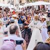 Dancing in Piazza delle Erba