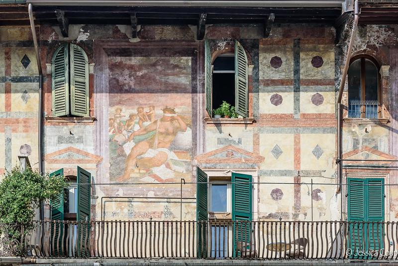 Frescos on the Wall