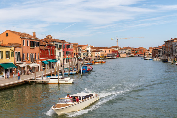 On the streets of Murano