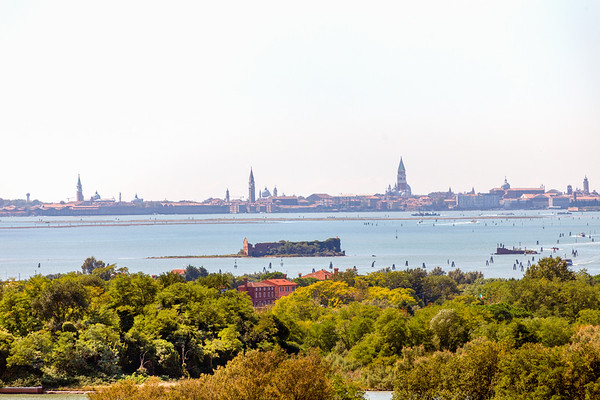 View from Campanile to Venice