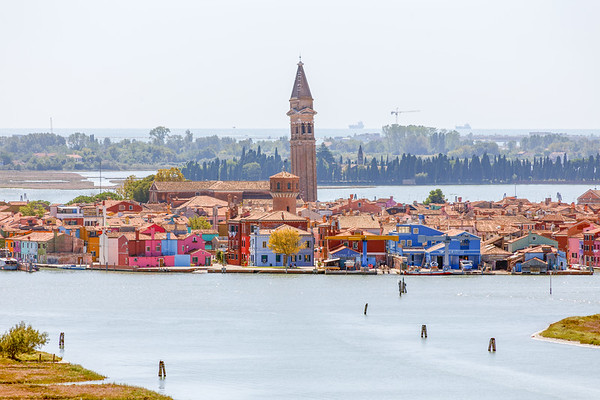 View from Campanile to Burano