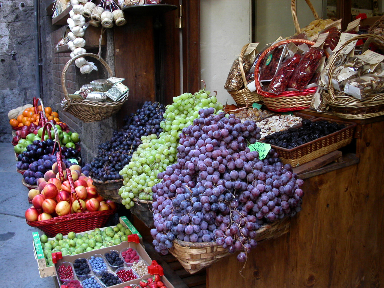 8. Fruit Stand in Tuscany