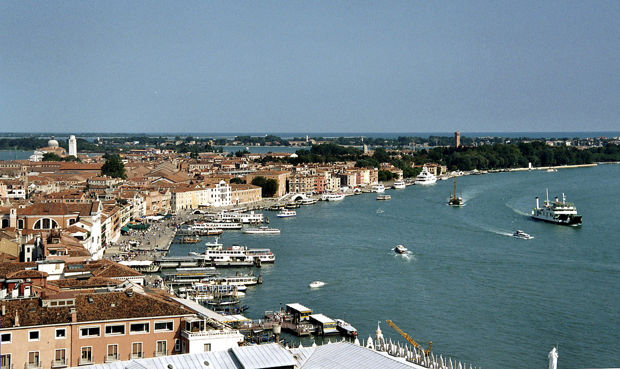 29. View of Grand Canal from Duomo, Venice