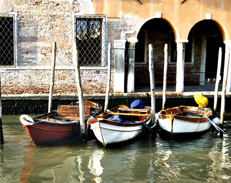 4. Boats in Venice