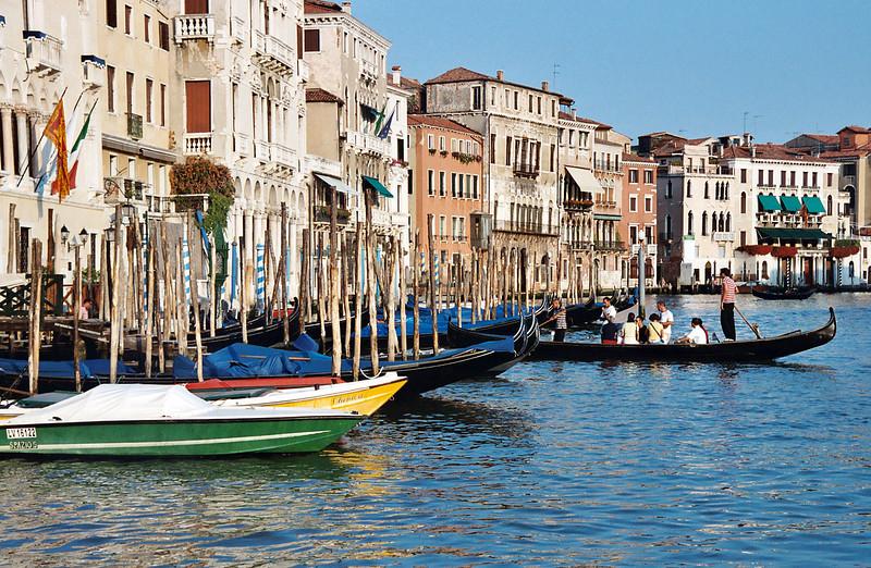 3. Boats & Gondola
