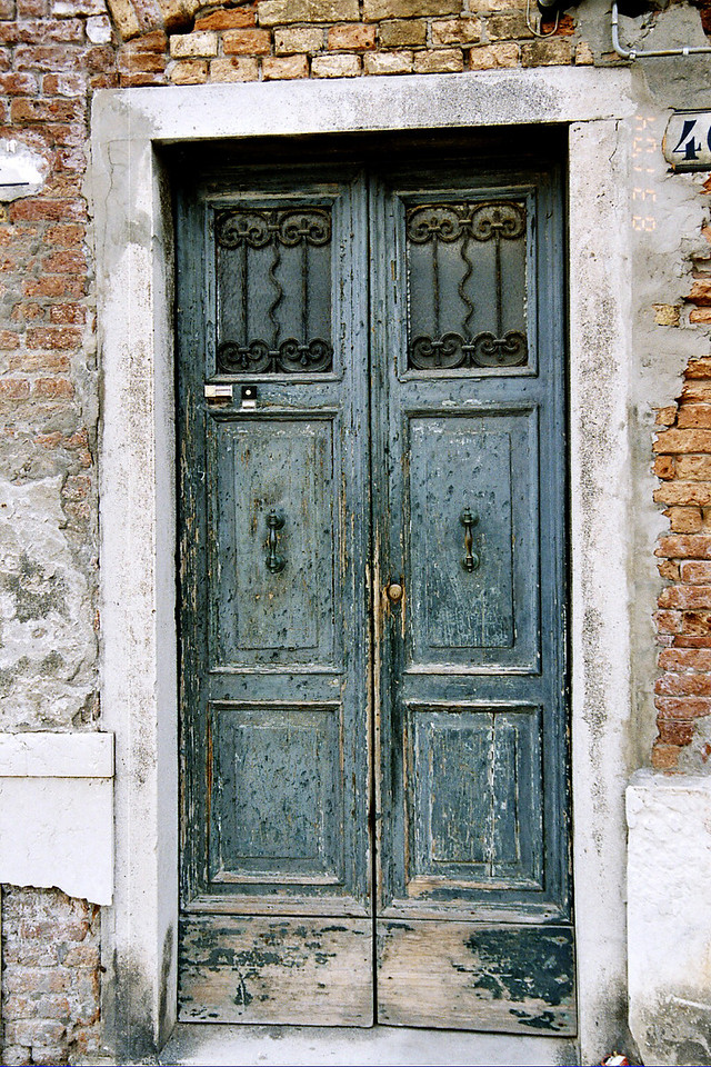 33. Blue Door in Venice