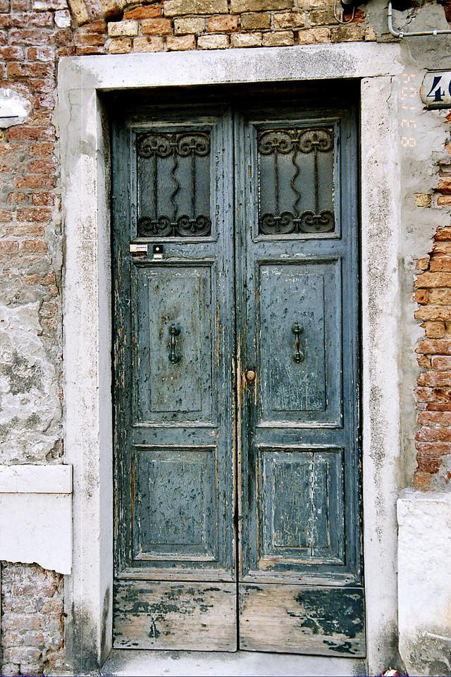 33. Blue Door in Venice