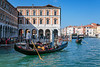 The Grand Canal in Veneto, Venice, Italy, Europe,