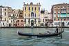 The Grand Canal in Veneto, Venice, Italy, Europe,