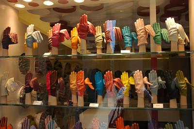 Colorful shop windows