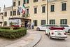 Limousines at the Villa Braida Hotel in Veneto, Mogliano, Venice, Italy, Europe.