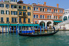 The Grand Canal of Venice, Italy with Venetian architecture, boats and gondolas