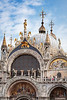 The Mark's Basilica in San Marco Square in Veneto, Venice, Italy, Europe,
