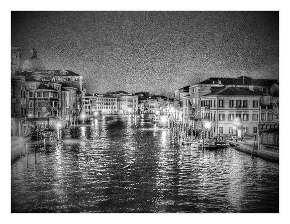 """Stately Beauty"" - Venezia (B & W)"