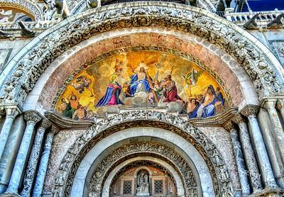 """""""Ingresso - The Ascension of Christ"""" - Saint Mark's Venezia"""