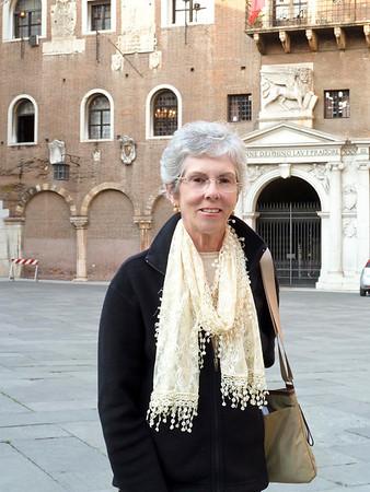 Joyce in the Piazza dei Signori