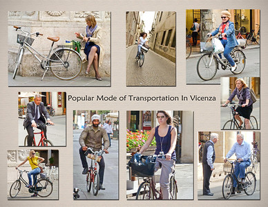 Bicycling in Vicenza