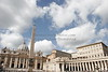 St. Peter's Square, the Vatican, Italy