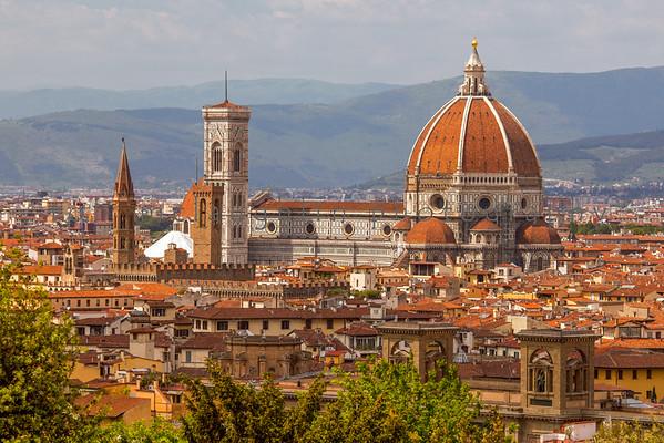 Basilica di Santa Maria del Fiore (The Duomo), Florence, Italy