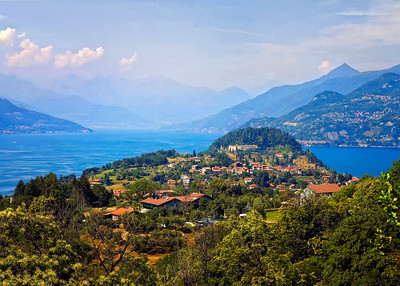 Richards__Lake Como as seen from Bellagio