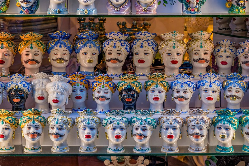 Moorish Masks on the Amalfi Coast