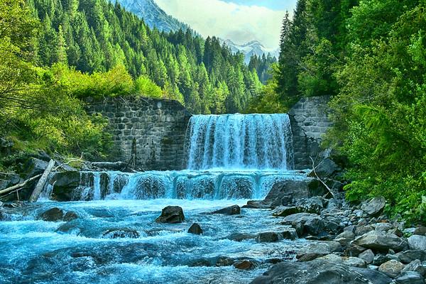 Beautiful Waterfall in Itay - horizontal