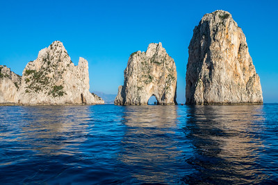 Coast of the Island of Capri