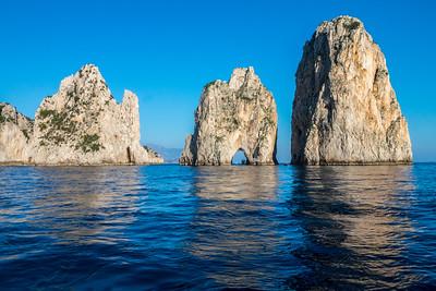 Coast of the Island of Capri