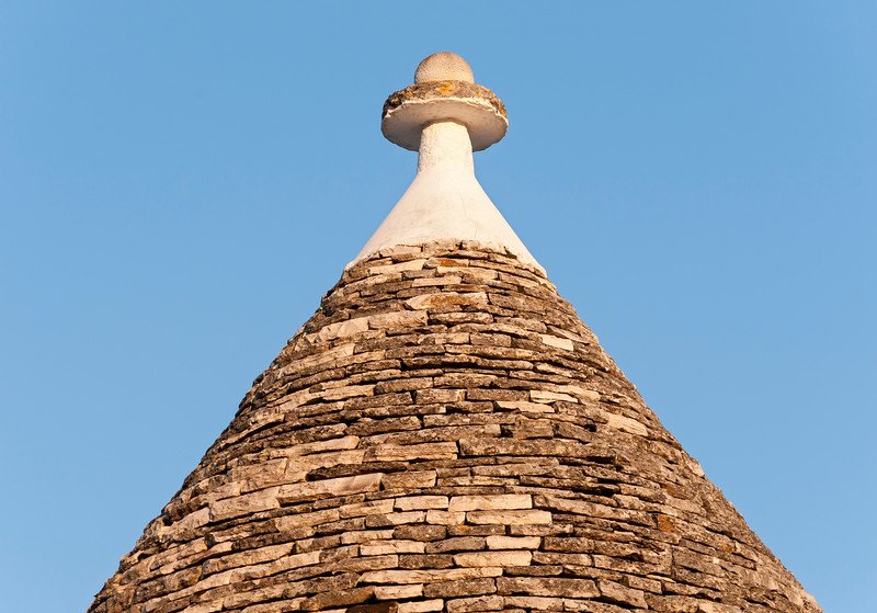 Conical Trullo Roof, Alberobello