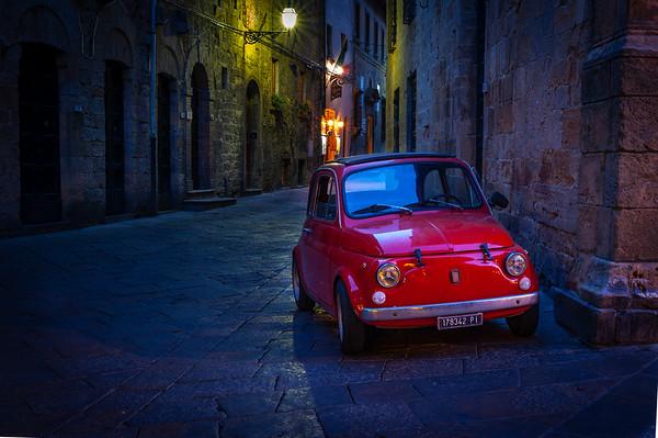 Red Fiat Volterra