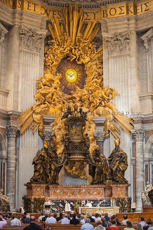 Mass in St. Peter's Basilica, Pentecost Sunday 2013, Rome