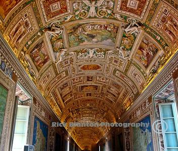 """"""" Hallway in Vatican Museum """""""