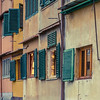 Windows in Florence, Italy.