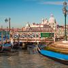 Santa Maria della Salute & Gondolas, The Grand Canal,  Venice
