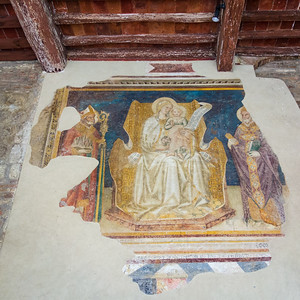 fresco, Chiesa Collegiata, San Gimignano, IT