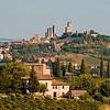 Hill Town of San Gimignano, Tuscany