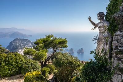 Overlooking the Island of Capri