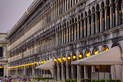 Dawn at Piazza San Marco
