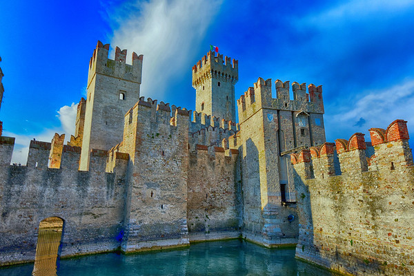 Sirmione Castle HDR