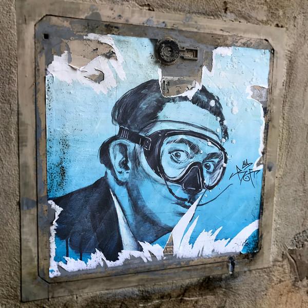 Salvador Dali Underwater. 2017.