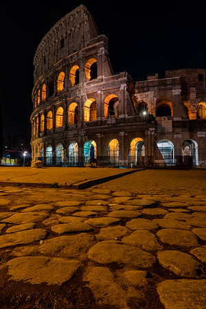 Path to the Colosseum