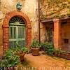 Tuscany Courtyard, Italy