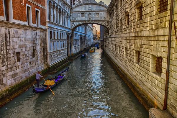 Life in Venice - Side Canal