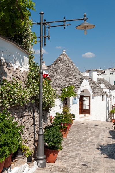 Alberobello Trulli District, Puglia