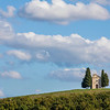 Chapel of the Madonna di Vitaleta-Pienza, Italy