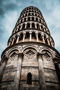 Leaning Tower of Pisa (Up Close)