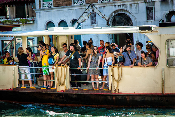 Richards__Tour Boat on the Grand Canal