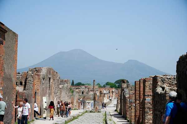 Mt. Vesuvius and pompei